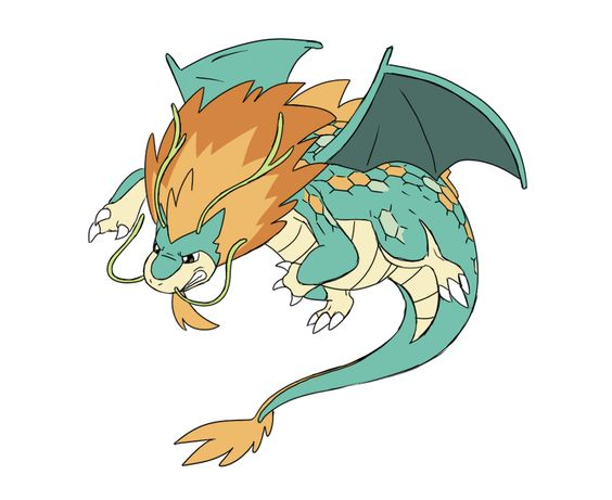 Mega Dragonite by Tzblacktd on DeviantArt