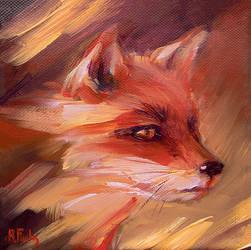 The Fox by BozhenaFuchs