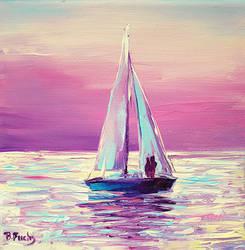 Sailing by BozhenaFuchs