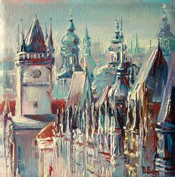 Praha by BozhenaFuchs
