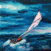 The Storm by BozhenaFuchs