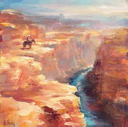 Grand Canyon by BozhenaFuchs