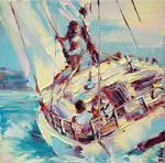 The Romance of Sailing by BozhenaFuchs