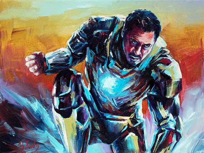 Iron Man by BozhenaFuchs
