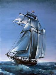The Ship by BozhenaFuchs