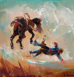 Cowboy mini by BozhenaFuchs