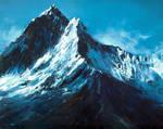 Mountains art