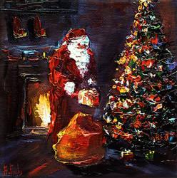 Santa Claus art by BozhenaFuchs