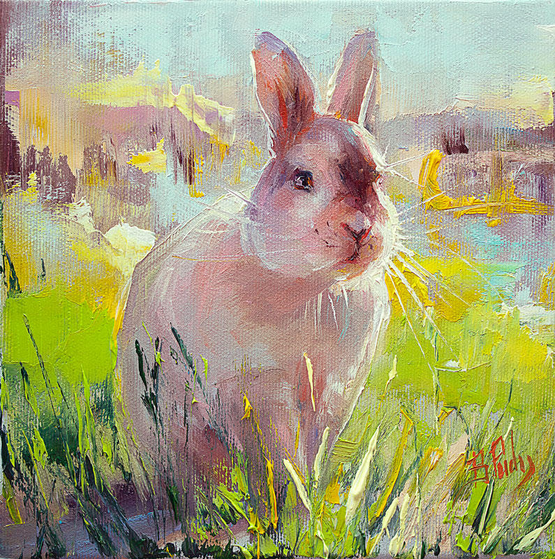 The Bunny by BozhenaFuchs