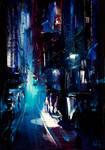 City Night Painting