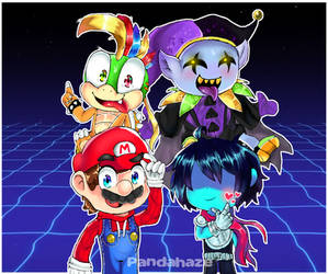 Anything and Everything   Mario X Deltarune