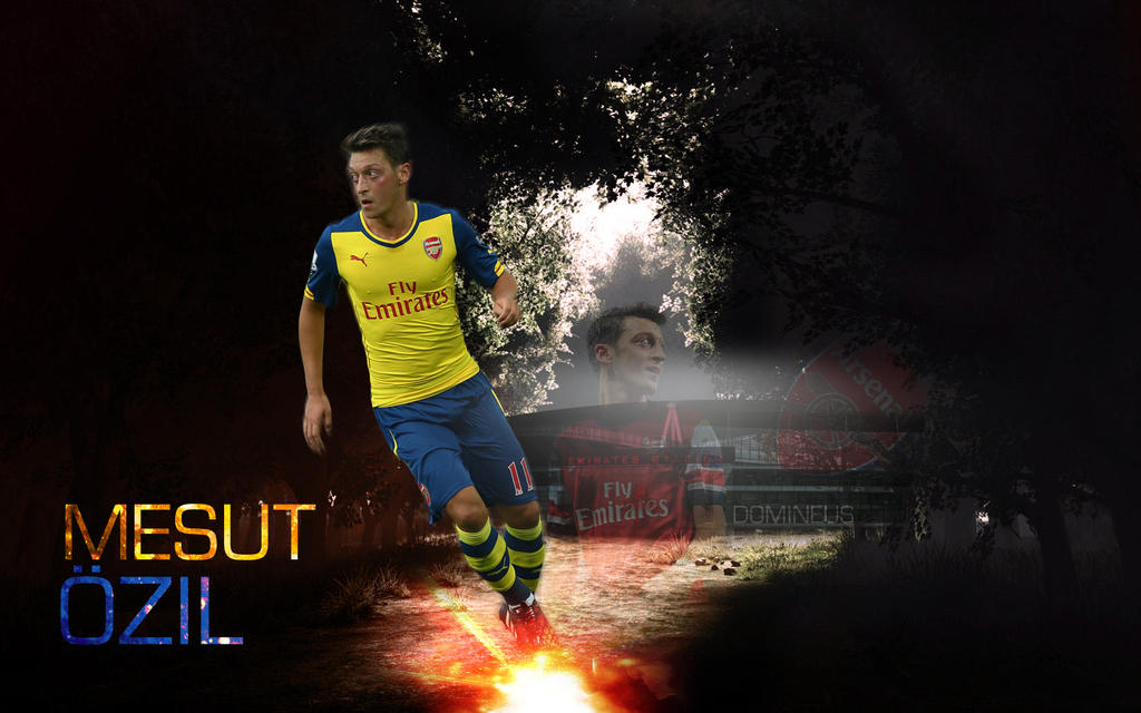 Mesut Ozil By Domineus7 On DeviantArt