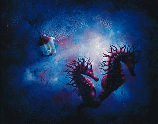 Riders of the underworld by SerapOnur