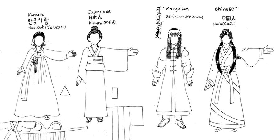 women s east asian clothes tutorial by kinnohitsuji on deviantart