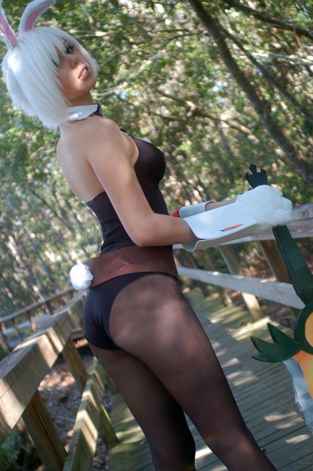 Bunny Suit Riven by AshleyTheGeek
