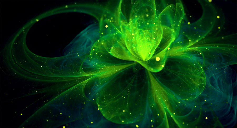 Night Flower green by jagerion