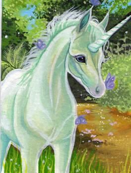 ACEO Iridescent Beauty