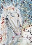 ACEO - A Christmas Unicorn