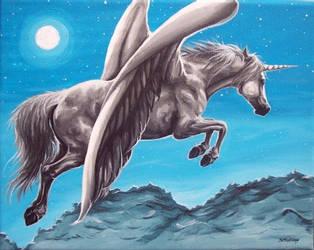 Silent Flight by DawnUnicorn
