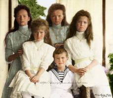 Romanov Sibling Portrait