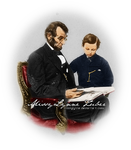 Abraham and Tad Lincoln