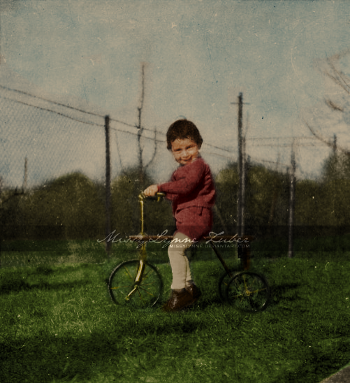 Anne Frank 1931 by MissyLynne
