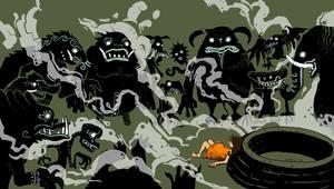 Surrounding Demons