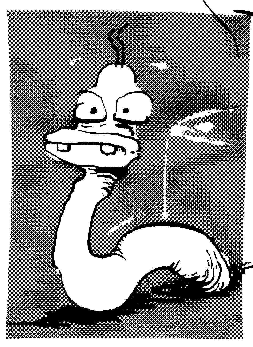 worm by spidol