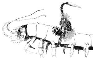 guuDha warrior by spidol