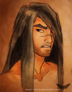 Yasuo - grumpy samurai