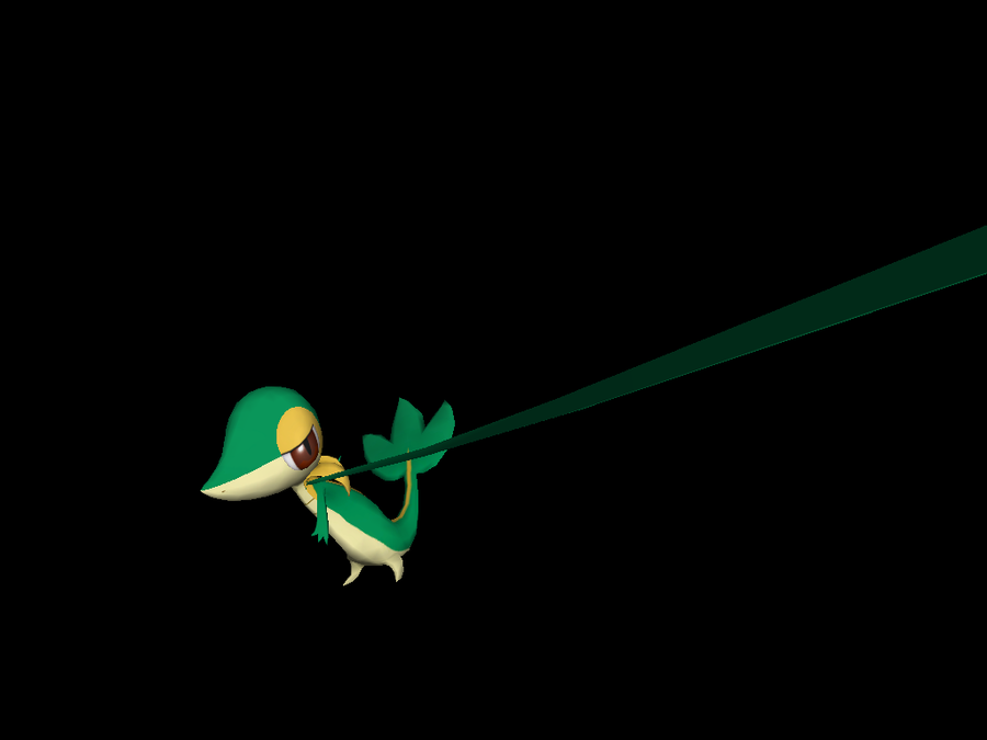 Snivy Vine Whip by riolushinx