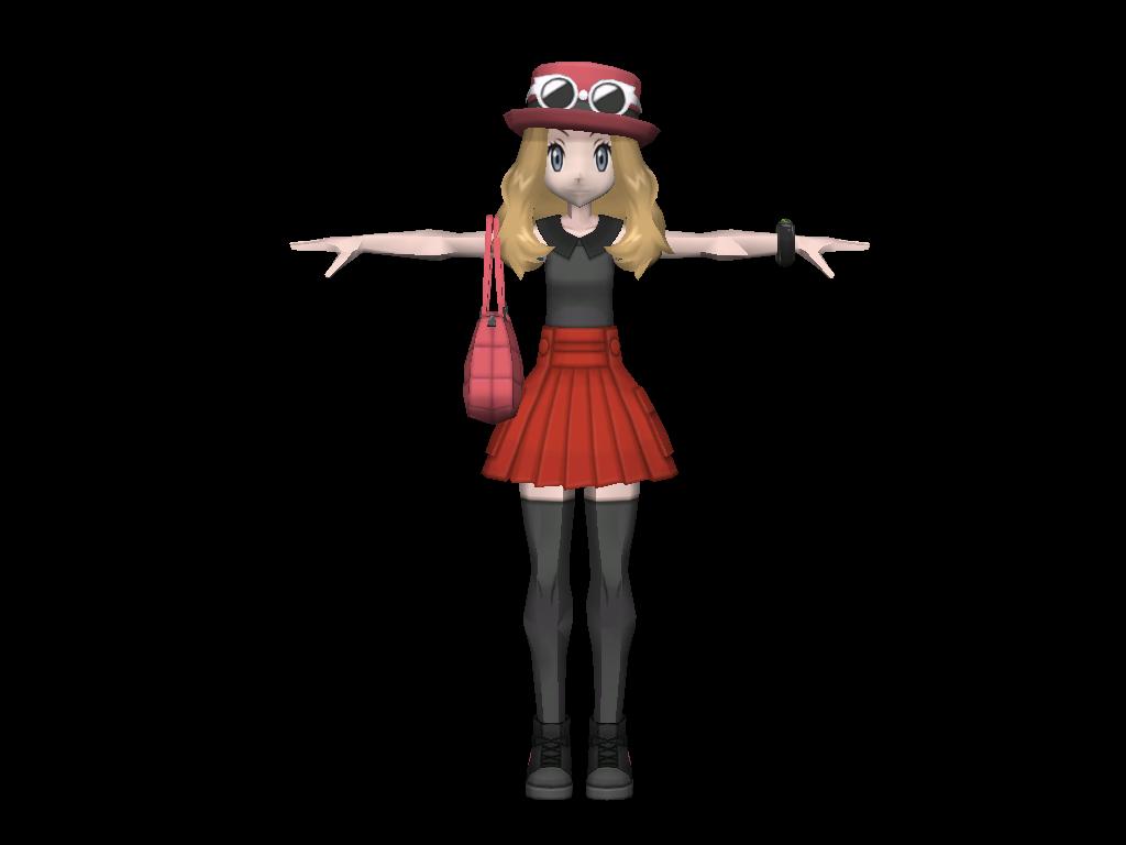 Serena Model by riolushinx