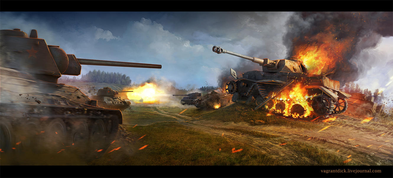 tanks by Vagrantdick