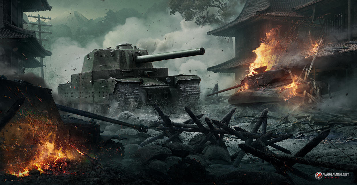 Japan Tank 10 by Vagrantdick