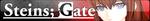 Steins:Gate button by MikuMikuDanceloid