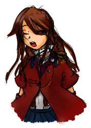 Sketch Steampunk Girl