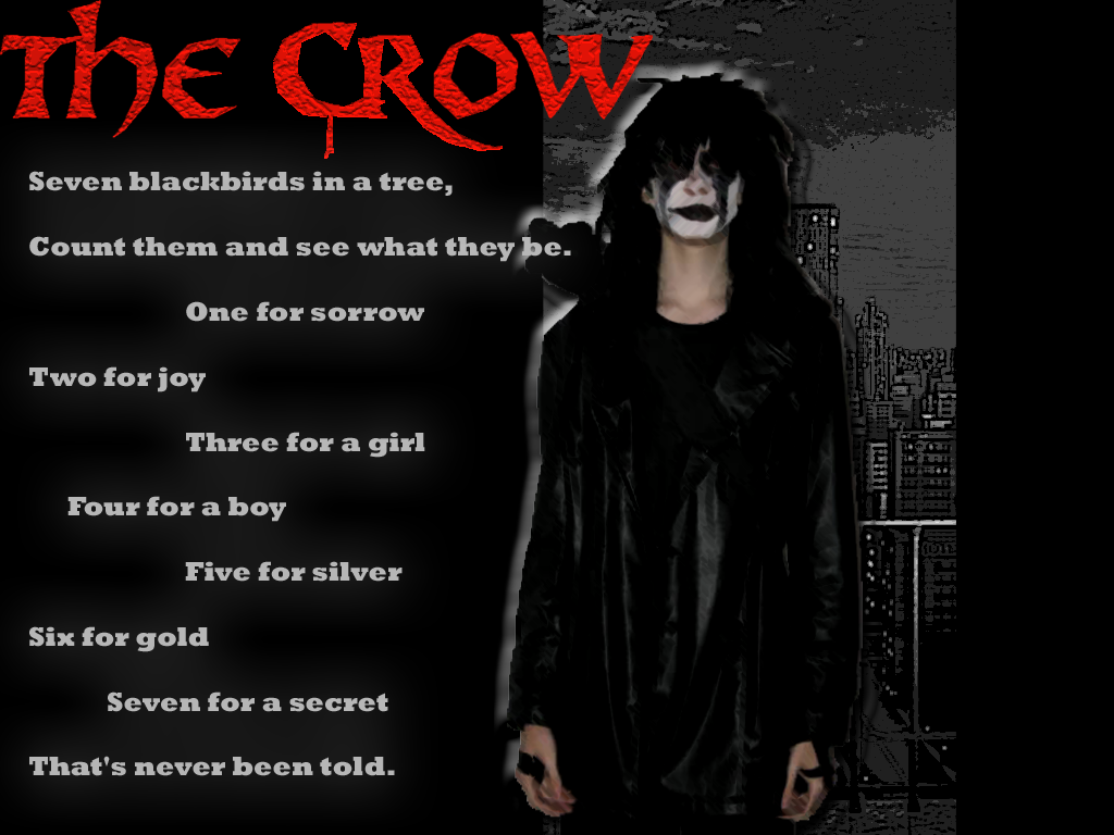 The Crow Wallpaper by ReverseNegative on DeviantArt