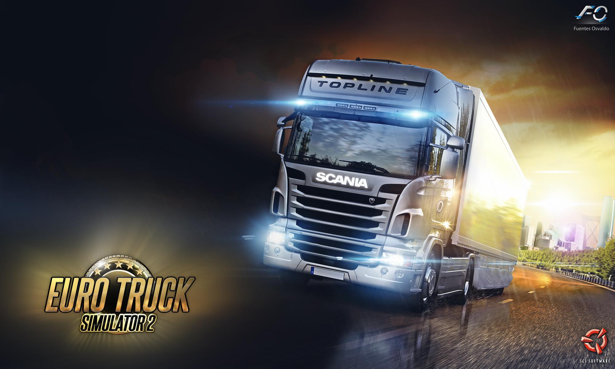 euro truck simulator 2 wallpaper  ets2  scs by scania logo vector scania logo pdf