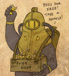 Delta the Bee Vendor