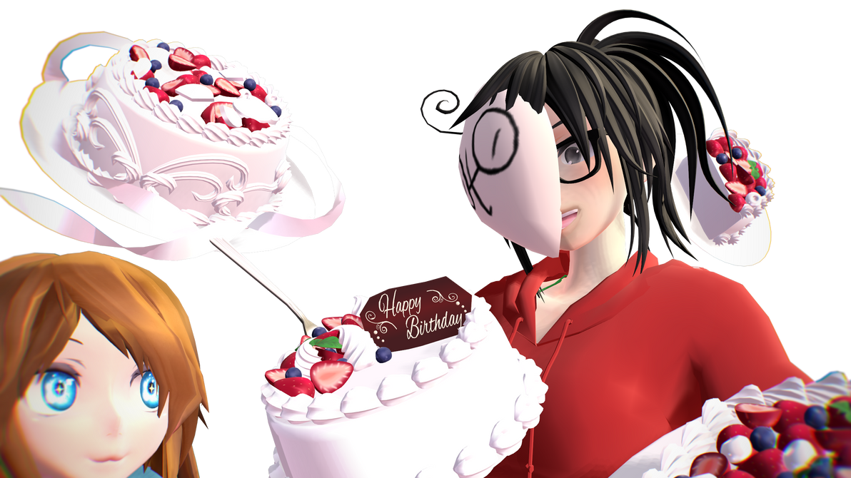 [MMD] Happy B-Day, Friend! by Gabriella112