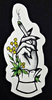 Weed Chic - Dotwork