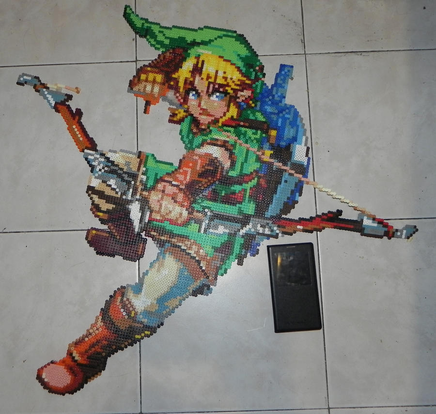 Links Hama Beads by Yumekia