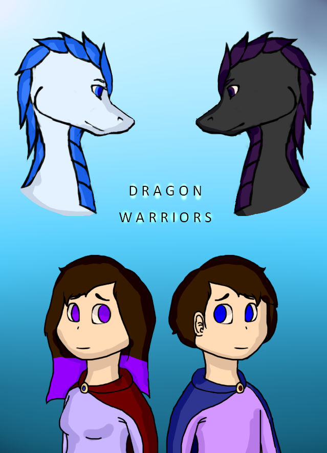 The Dragon Worriors cover by Wolfia551