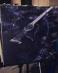 galaxy guitar by Aldonika