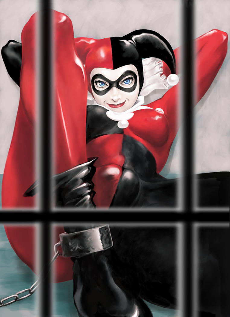 Harley Quinn jailed by LILFIEinaBOX