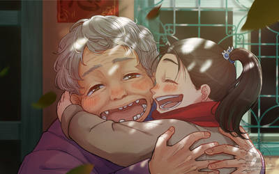 Grandmother's smile