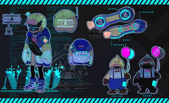 Original character design -- Neo