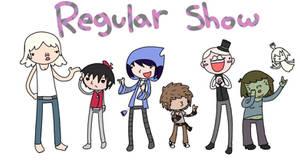 Regular show human cast