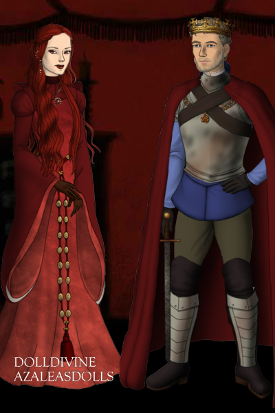 DollDivine Melisandre and Stannis by TiphLaMerveille