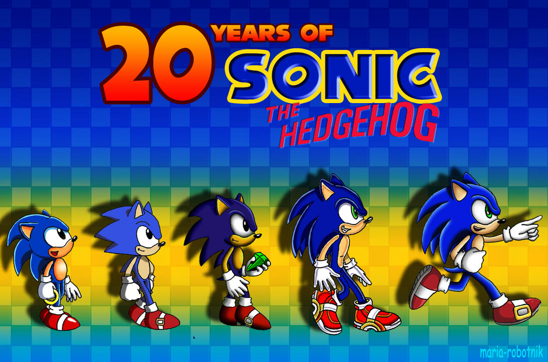 20 Years of Sonic by Maria-Robotnik
